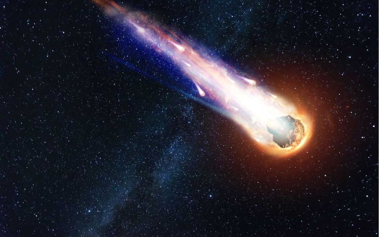 meteorite - Gli scienziati trovano acqua all'interno di un Meteorite
