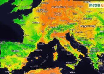 ondata di caldo in italia ed eur 350x250 - Video Meteo: Germania, devastata da alluvioni da record. Vittime