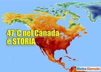 Ondata di calore nel Nord America.