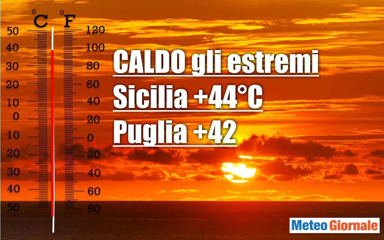 temperature estreme - PICCO del CALDO. Temperature e Durata? Novità METEO, ecco quando