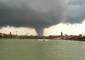 Il tornado del 12 Giugno 2012 su Venezia