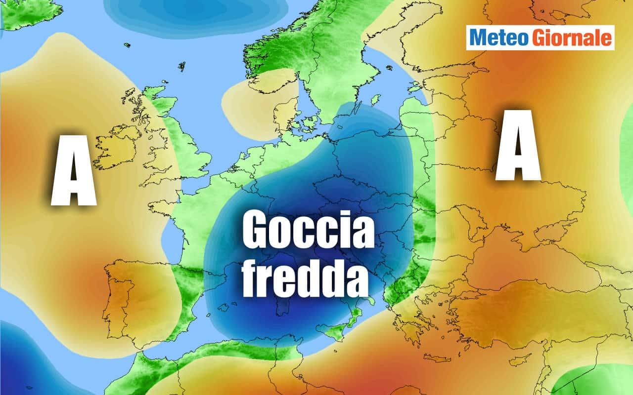 agosto - Meteo inizio d'Agosto, possibile GOCCIA FREDDA. Eppure sarà Estate