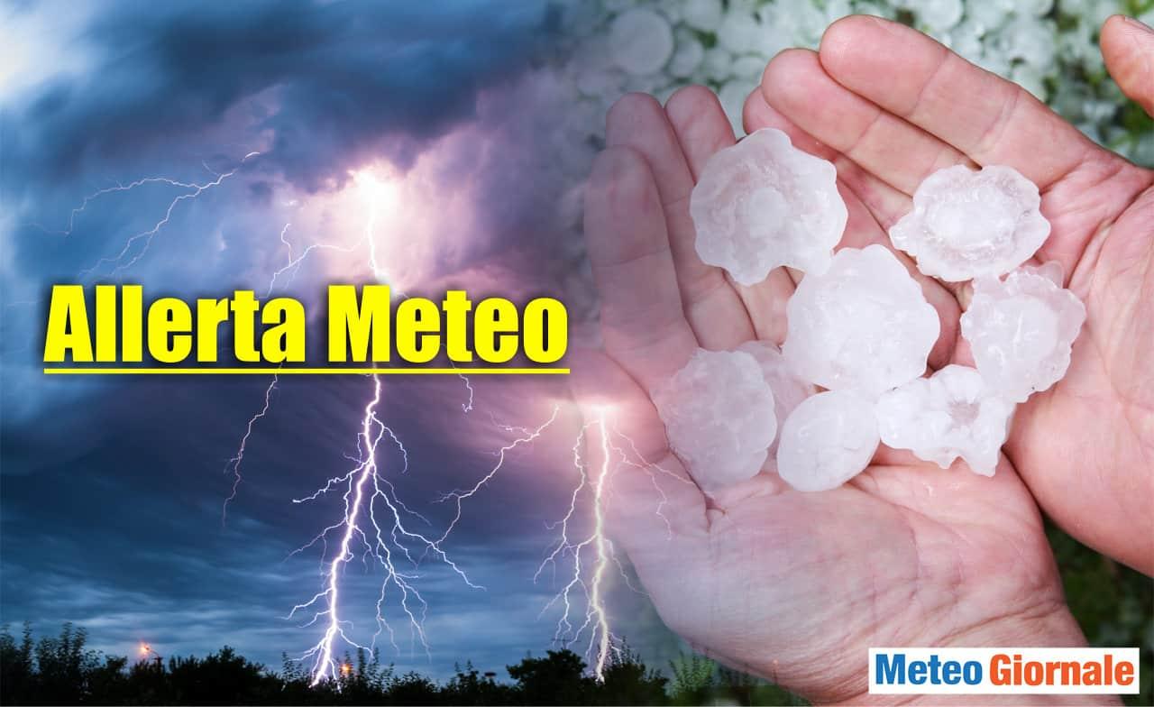 allerta meteo protezione civile 1 - Allerta meteo Protezione Civile è stata emessa per temporali
