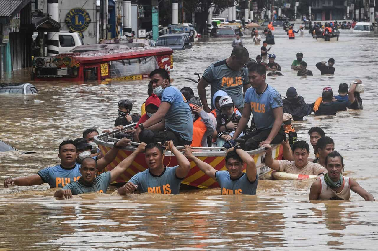 alluvione filippine - Filippine, gran disastro meteo