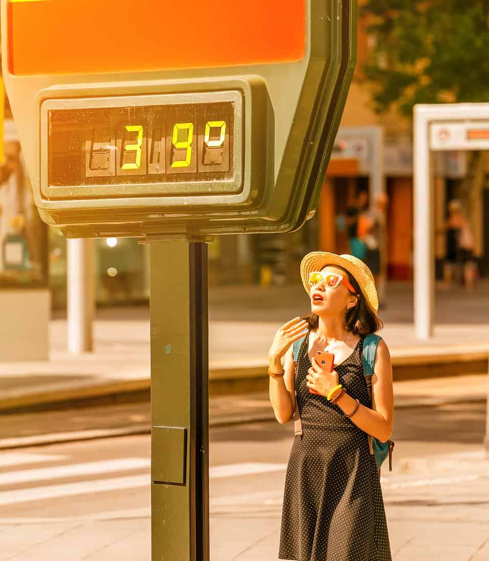 alte temperature - Gran caldo e Refrigerio dal Meteo Aeronautica sino all'8 Agosto 2021
