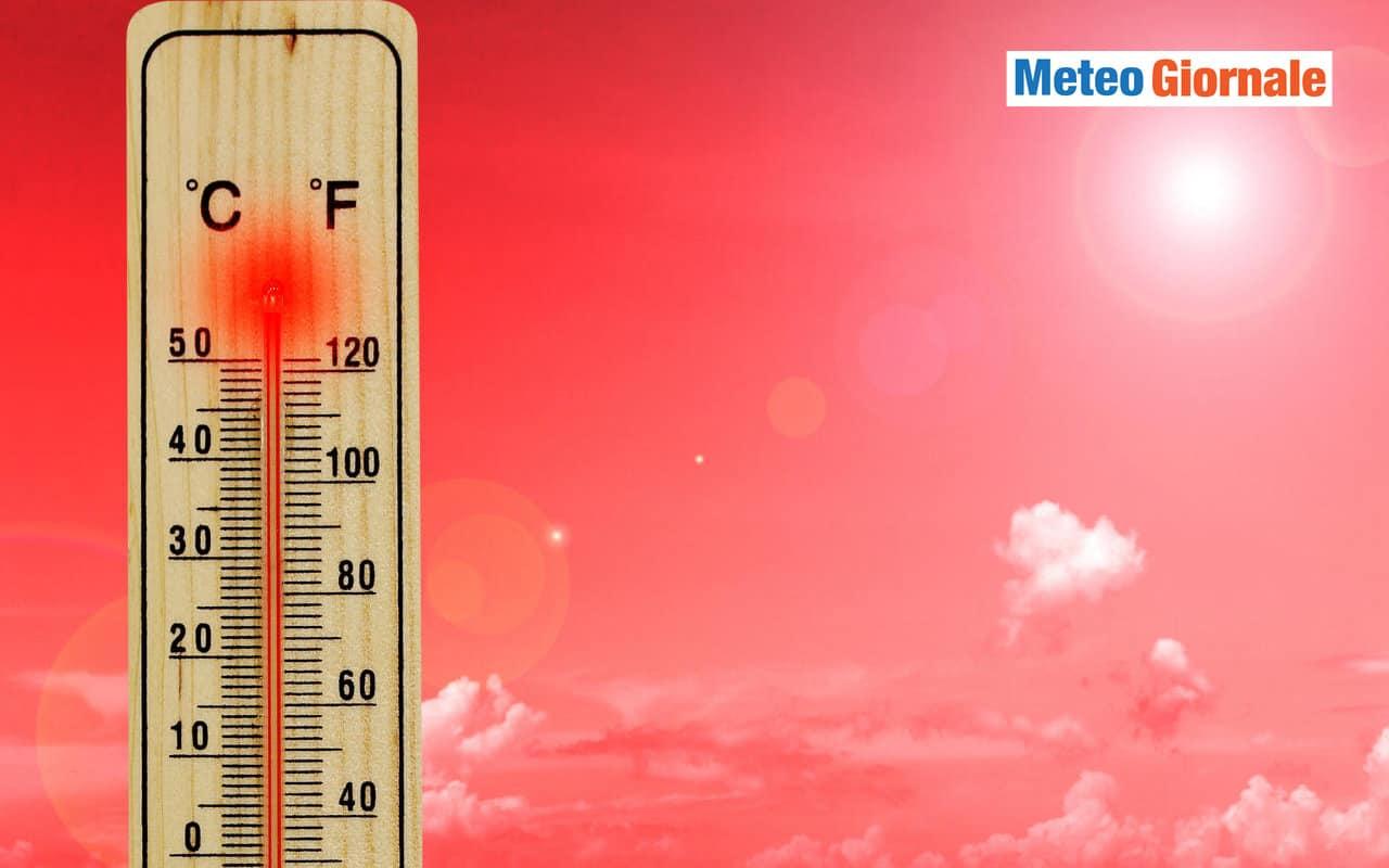 caldo africano - Ancora meteo d'Africa: fine settimana ROVENTE