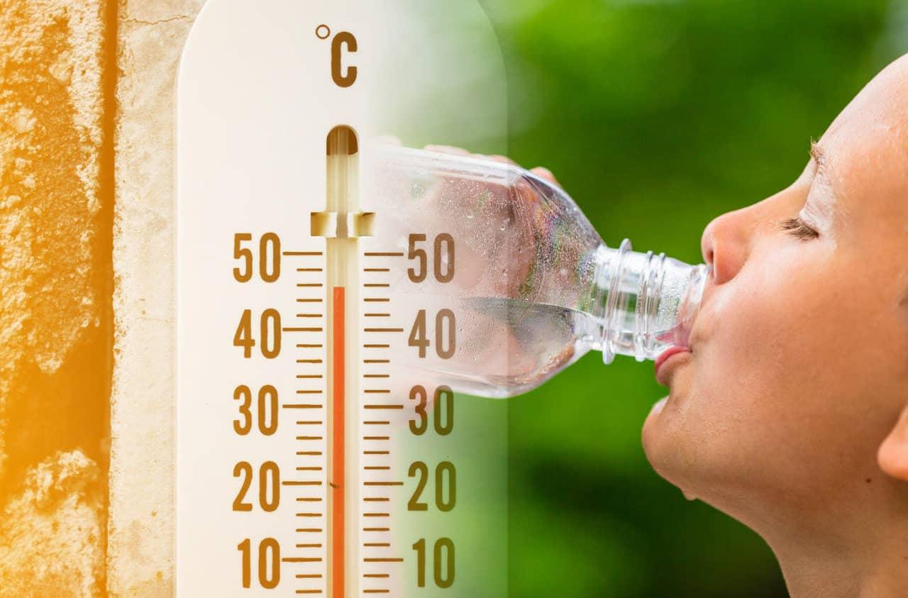 caldo termometro sete - FORNACE AFRICANA a pieno regime. Apice del caldo nei prossimi giorni