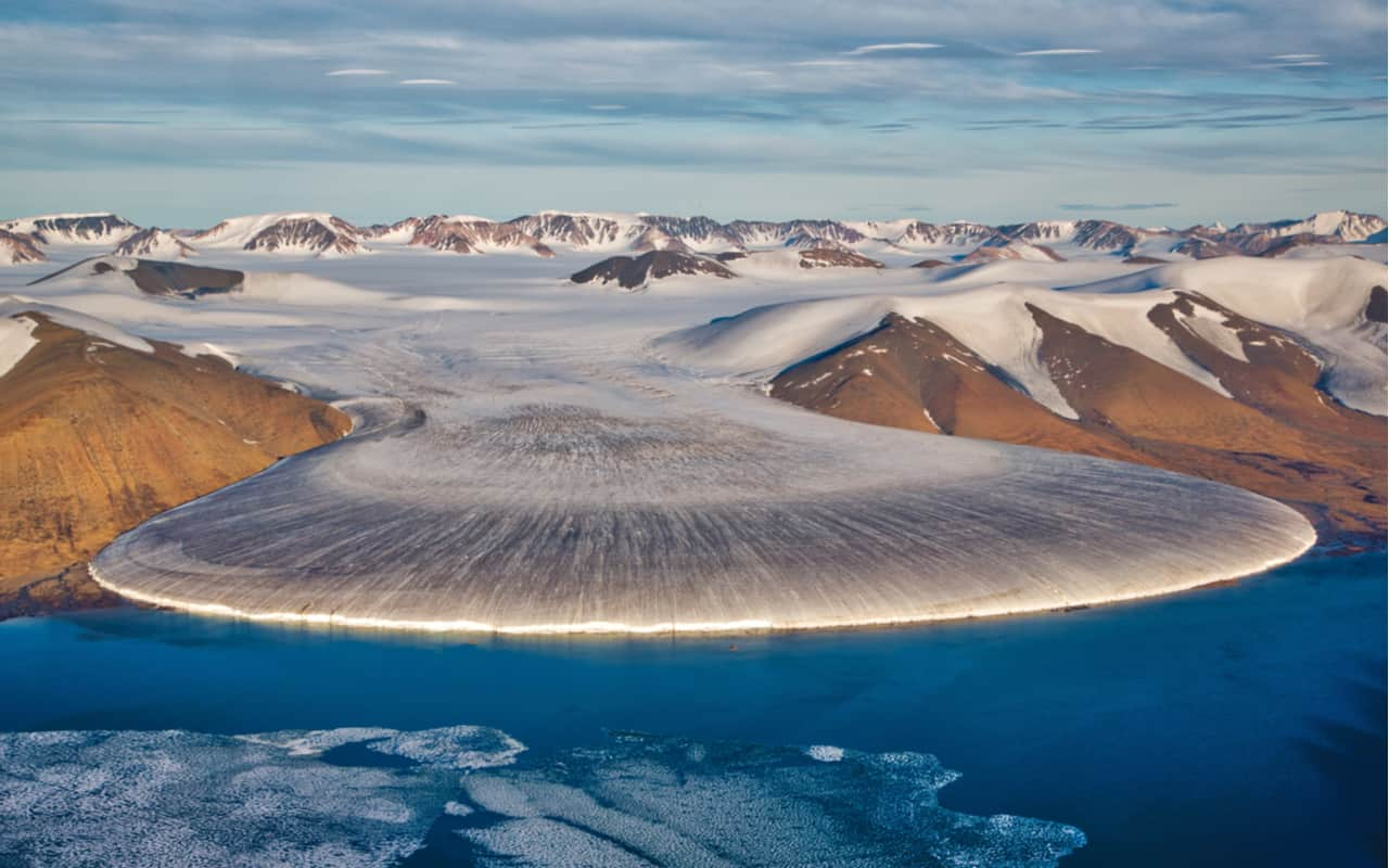groenlandia - La Groenlandia si sbriciola. Video dall'alto