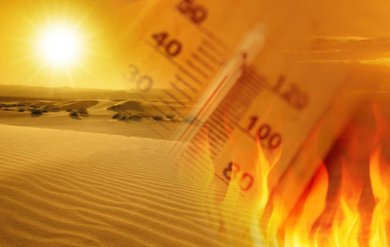 inferno fuoco sahara - INFERNO di FUOCO dal Sahara. Picchi fino a 45 gradi. Quanto durerà ancora?