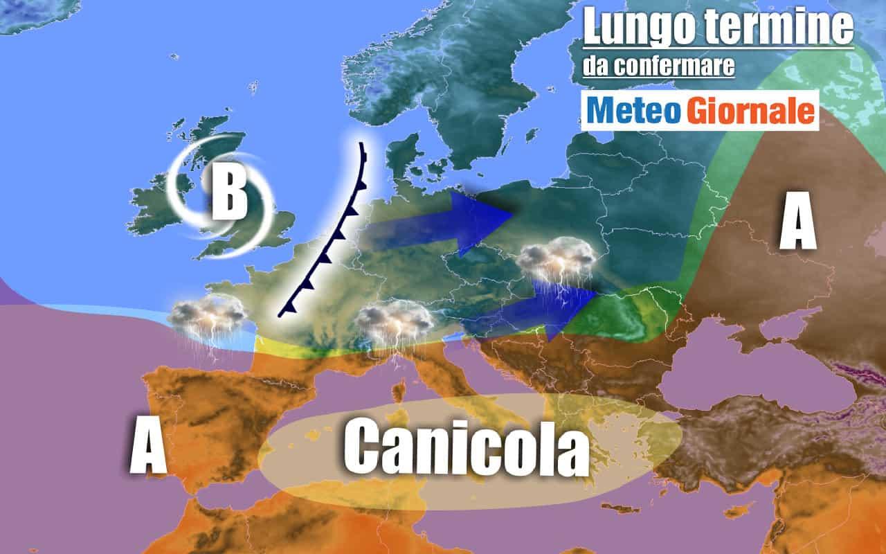 lungo termine domenica 3 - Meteo Italia al 9 agosto, ROVENTE causa aria sahariana