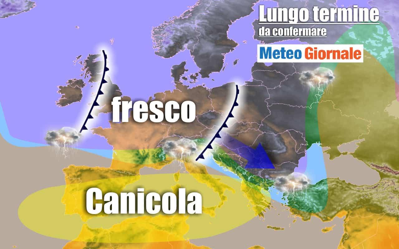 lungo termine domenica - Meteo Italia al 19 luglio: anticiclone africano porterà AFA