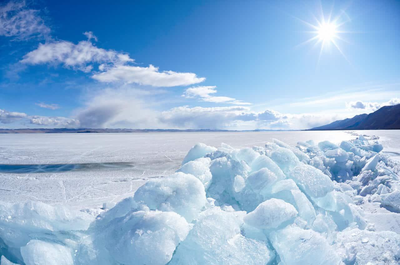 meteo 07507 - Grande lago in Antartide scompare incredibilmente in tre giorni