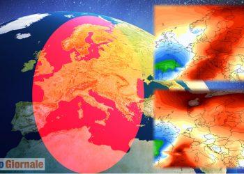 meteo con caldo record fonte ncep