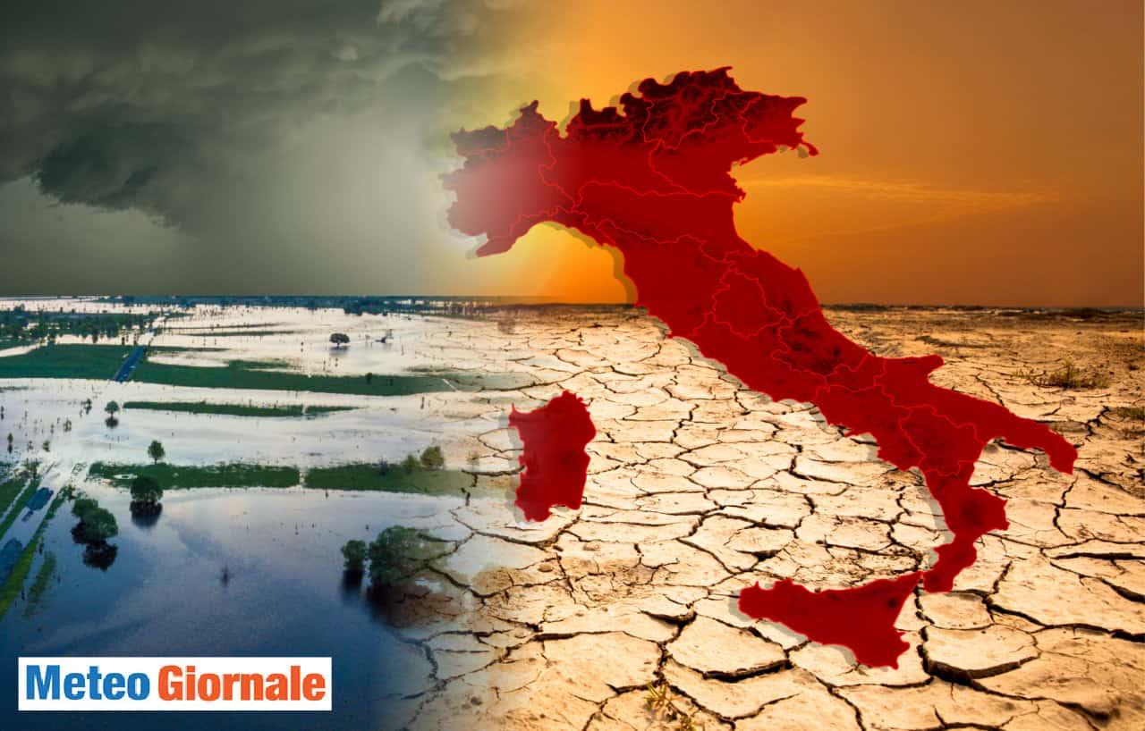 meteo con calo temperatura in onda calore - A quando un REFRIGERIO. METEO per l'ITALIA tra CALDO d'Africa. Le temperature
