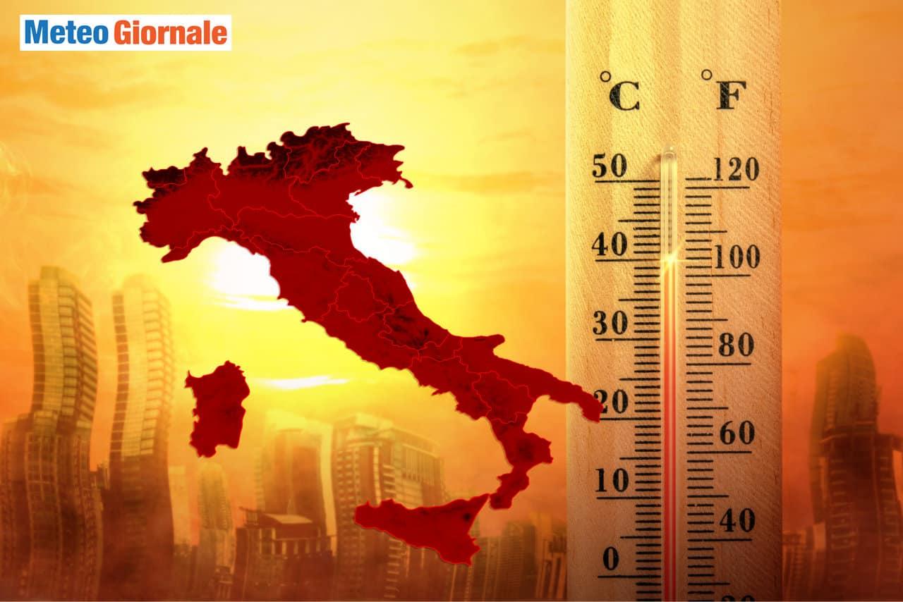 meteo con ondata di caldo a luglio - ULTIMORA Luglio e Agosto ROVENTI: ecco le proiezioni meteo climatiche