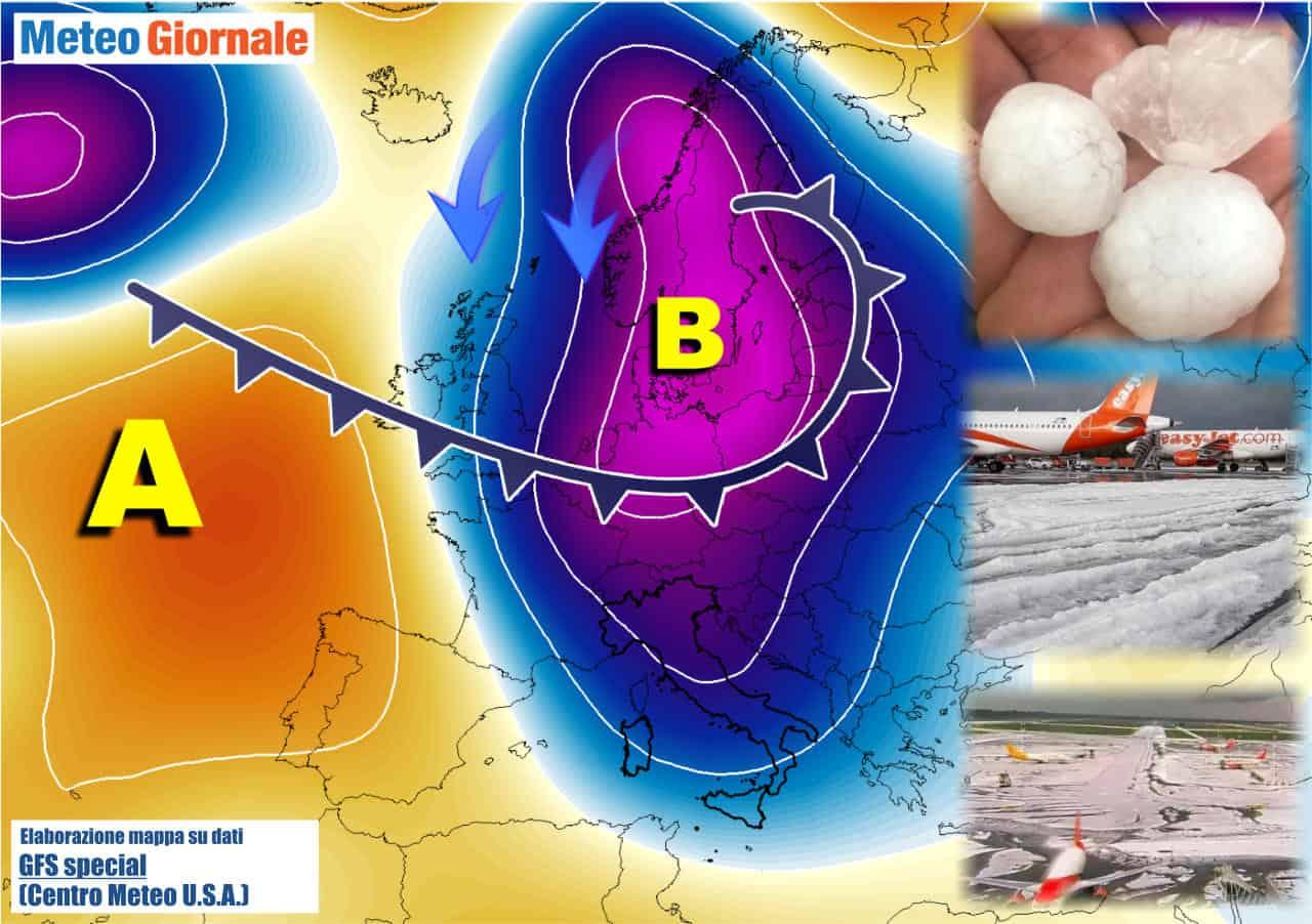 meteo con stop estivo - STOP ulteriore dell'Estate. Meteo tra Artico e Sahara. Obiettivo Italia