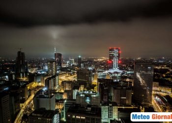 Frequenti temporali sono attesi a Milano.