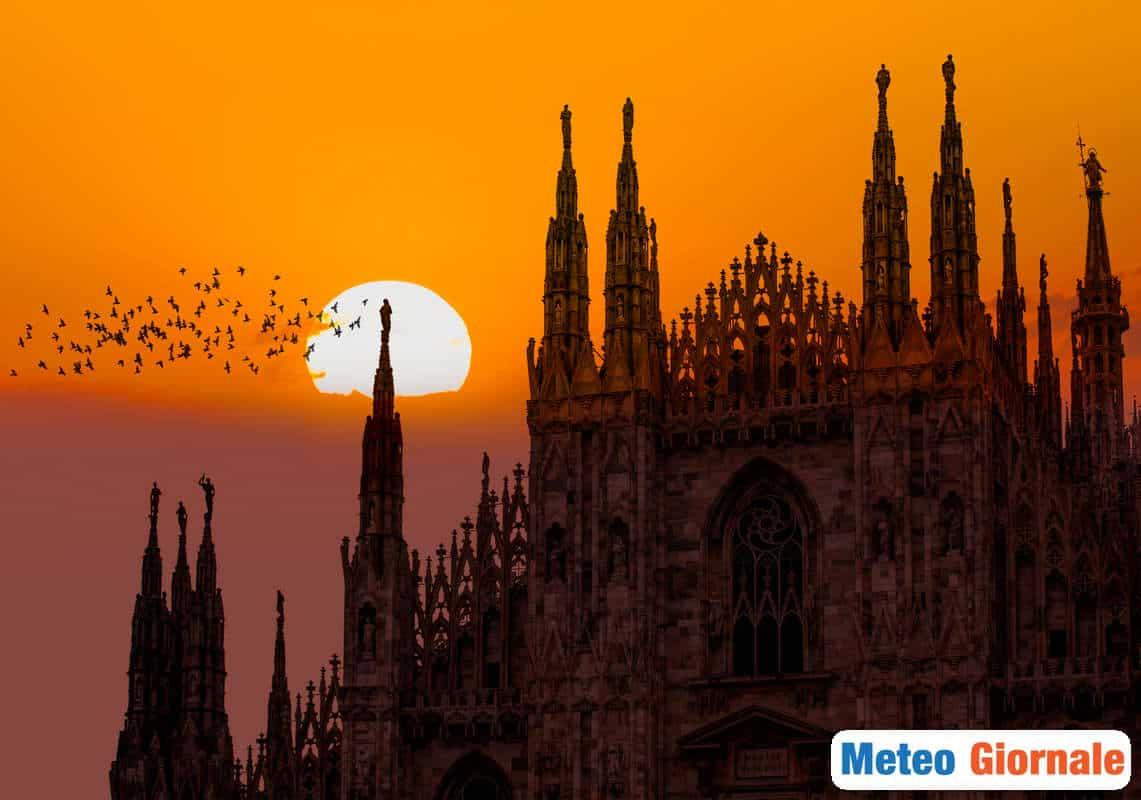meteo locale 00713 - Meteo MILANO: fortissimo aumento della temperatura e temporali tropicali