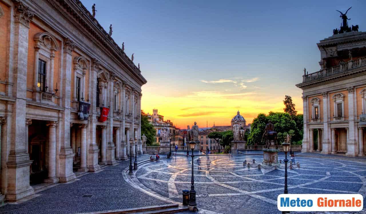 meteo locale 01005 - Meteo ROMA: caldo molto afoso, temporale per martedì