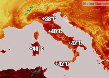 meteo verso ondata di calore