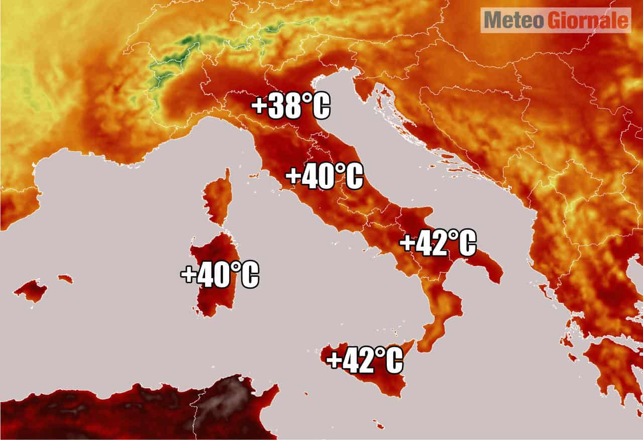 meteo verso ondata di calore - METEO: nuova Super BOLLA Calda dal Sahara farà rotta su ITALIA. Temperature alle stelle
