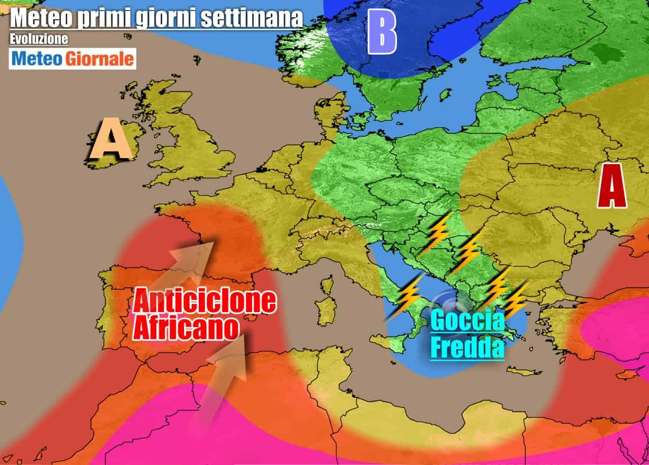 meteogiornale previsioni 7 giorni 16 - METEO 7 Giorni. Dal MALTEMPO al ritorno del CALDO AFRICANO