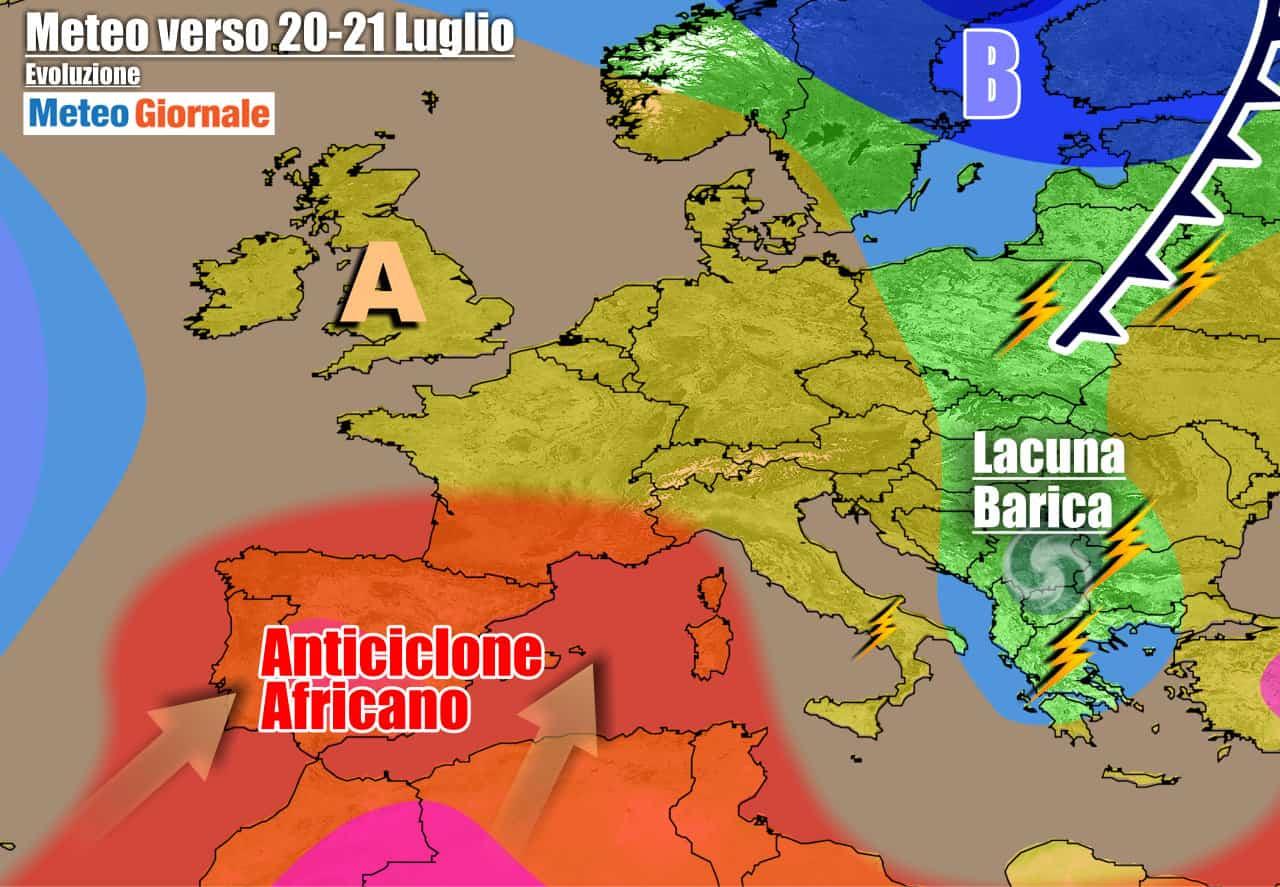 meteogiornale previsioni 7 giorni 17 - METEO 7 Giorni. Altra PIOGGIA e TEMPORALI, poi l'ESTATE tornerà col CALDO