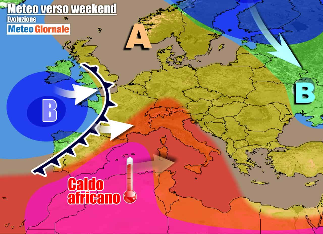 meteogiornale previsioni 7 giorni 20 - METEO 7 Giorni, avremo CALDO INFERNALE, ma anche qualche VIOLENTO TEMPORALE