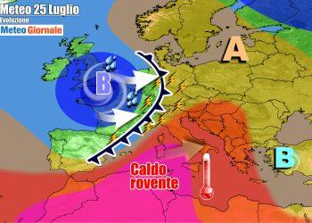 La fiammata di caldo nel weekend, ma poi seguiranno temporali su parte d'Italia