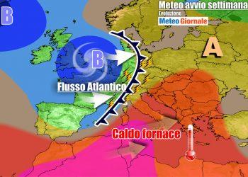 Italia tra caldo e forti temporali