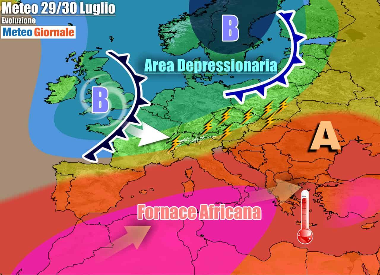 meteogiornale previsioni 7 giorni 26 - METEO 7 Giorni. Subito il CALDO AFRICANO più forte dell'Estate