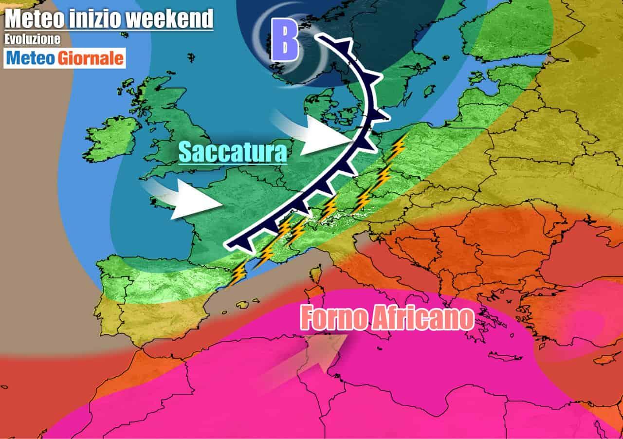 meteogiornale previsioni 7 giorni 28 - METEO 7 Giorni. CALDO ESAGERATO, ma FORTI TEMPORALI dal weekend