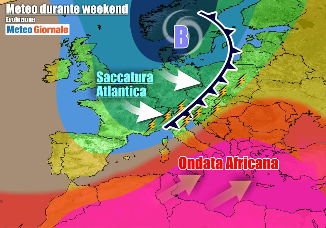 meteogiornale previsioni 7 giorni 29 - METEO 7 Giorni. TEMPORALI e CALDO INFERNALE, nuovi eccessi clamorosi