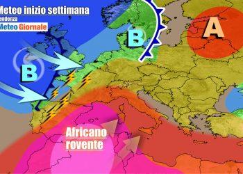 Italia fra caldo africano e maltempo la prossima settimana