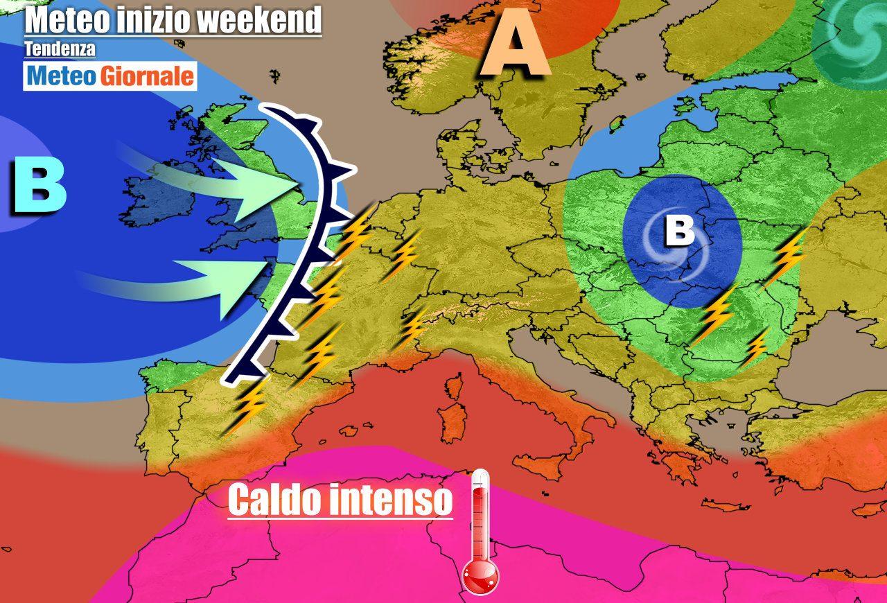 meteogiornale previsioni 7 giorni e1625114989588 - METEO ITALIA 7 Giorni. Nel weekend irrompono FORTI TEMPORALI e GRANDINE