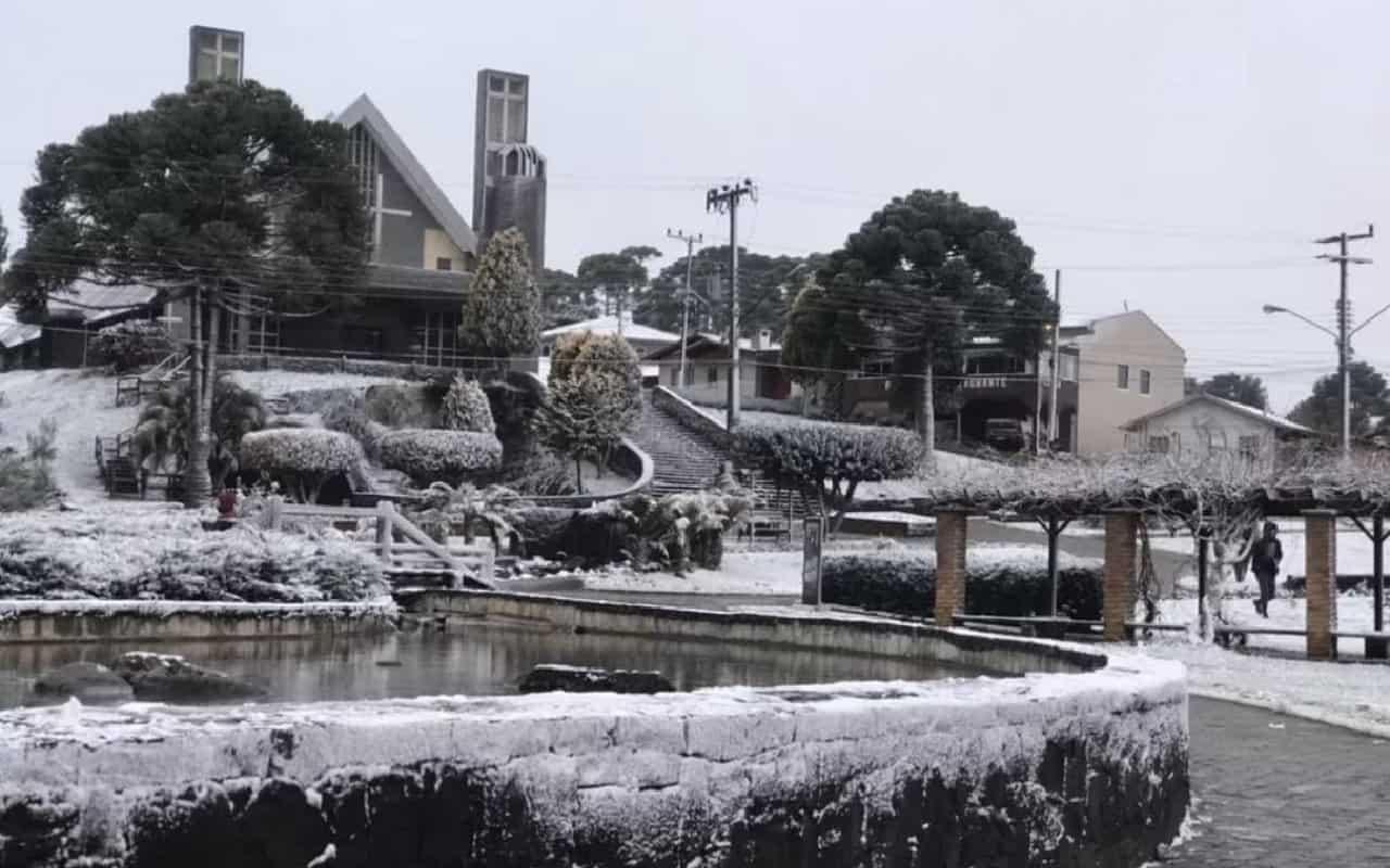 neve brasile - Storica ondata di FREDDO e NEVE