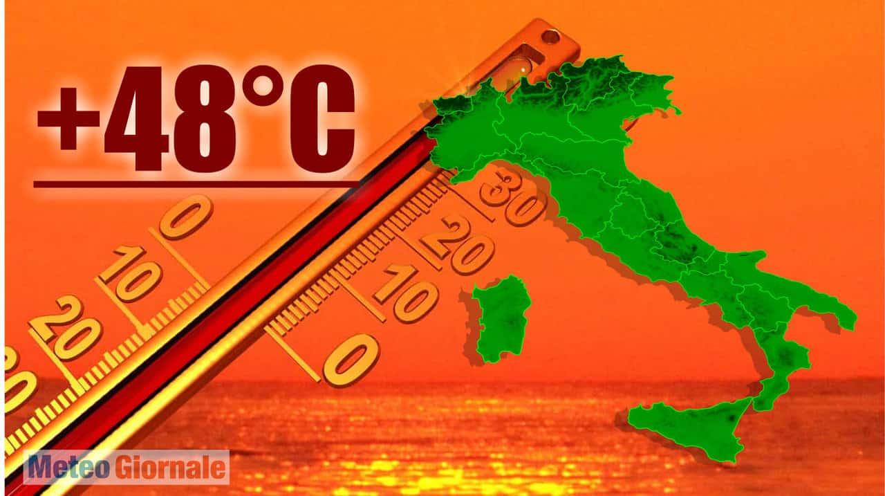 ondata di caldo 1983 - Meteo da non dimenticare: LUGLIO 1983 e il CALDO FEROCE mai visto prima