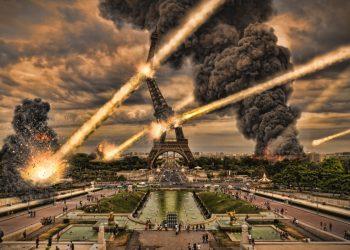 pioggia di meteoriti su parigi