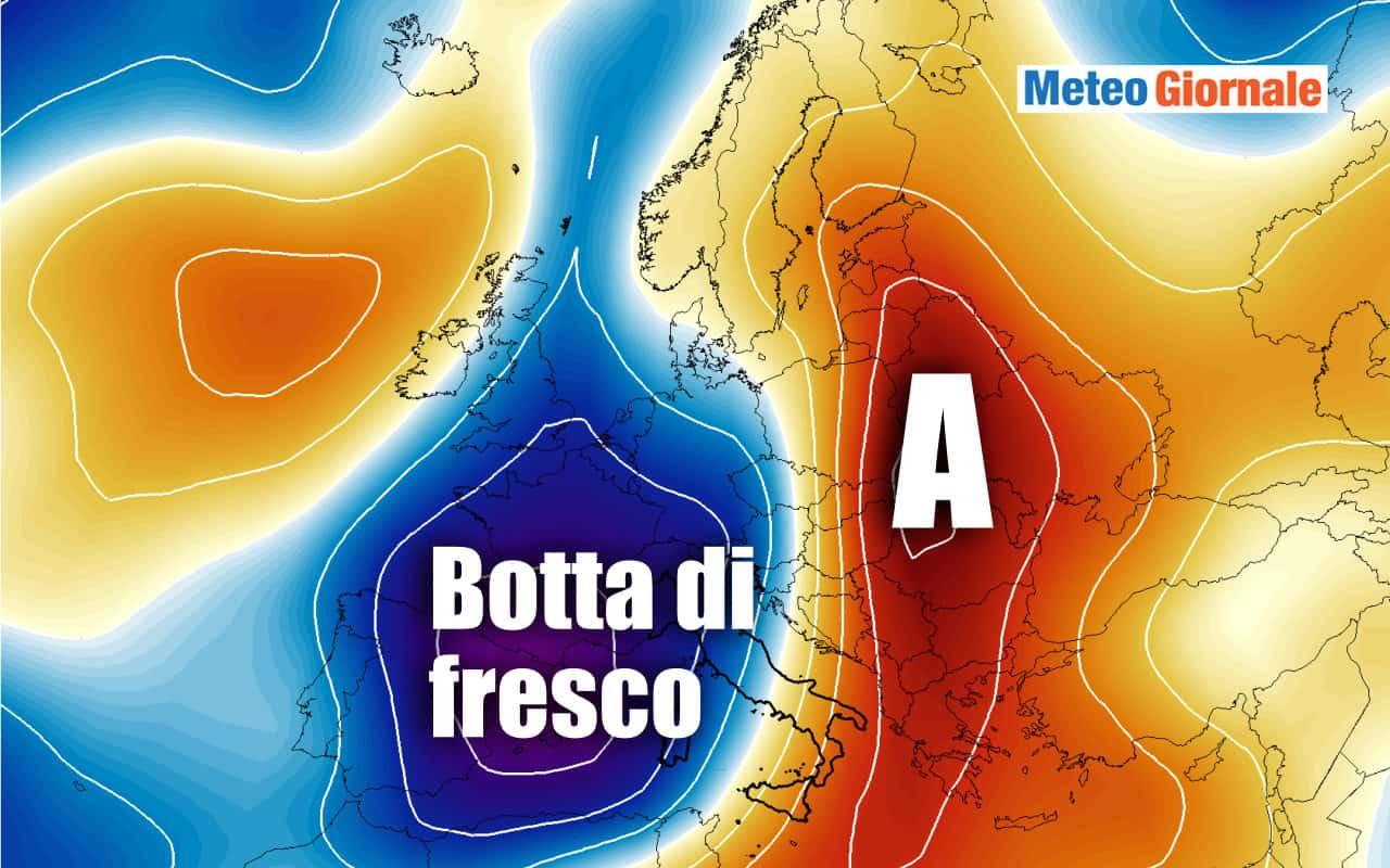 refrigerio - Agosto cambia tutto? Possibile REFRIGERIO sensibile dopo il CALDO imponente