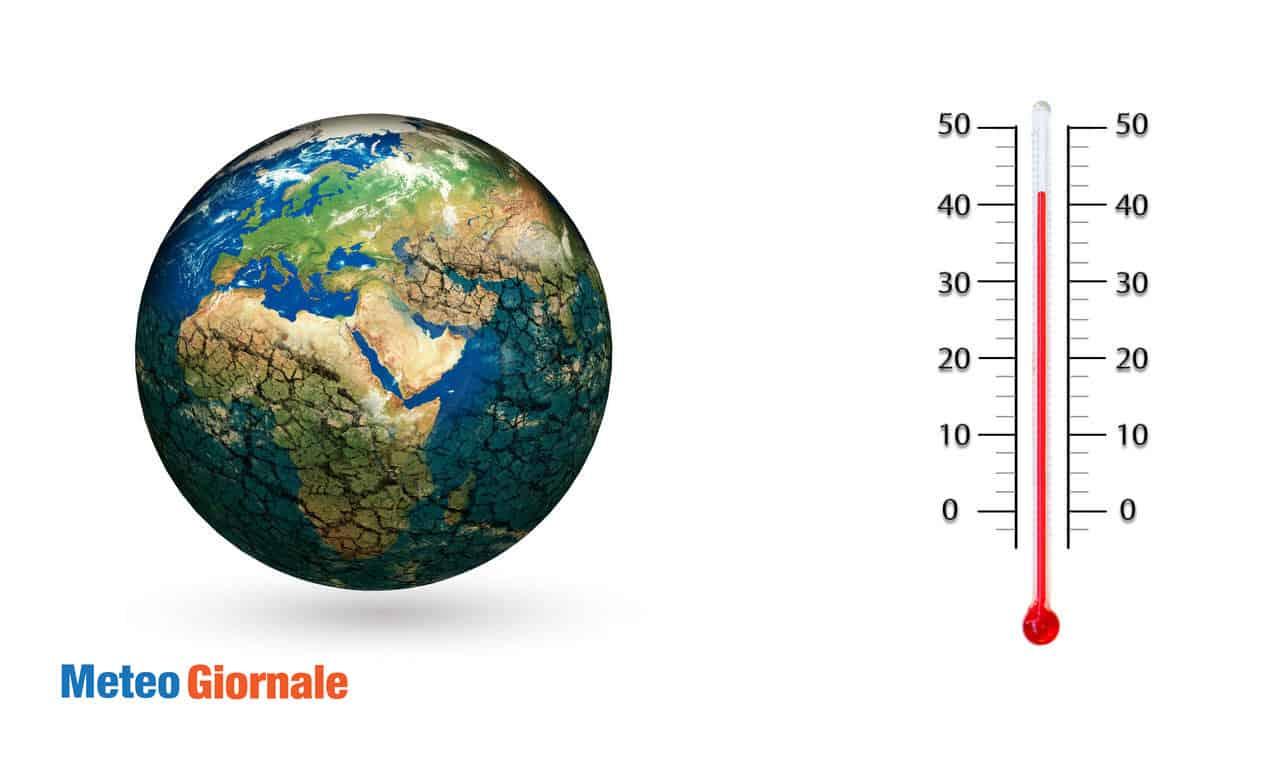 riscaldamento globale - Il Riscaldamento Globale potrebbe causare meteo gelido invernale in Europa