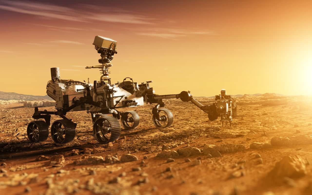 rover perseverance  - Gli Alieni su Marte li abbiamo portati noi terrestri