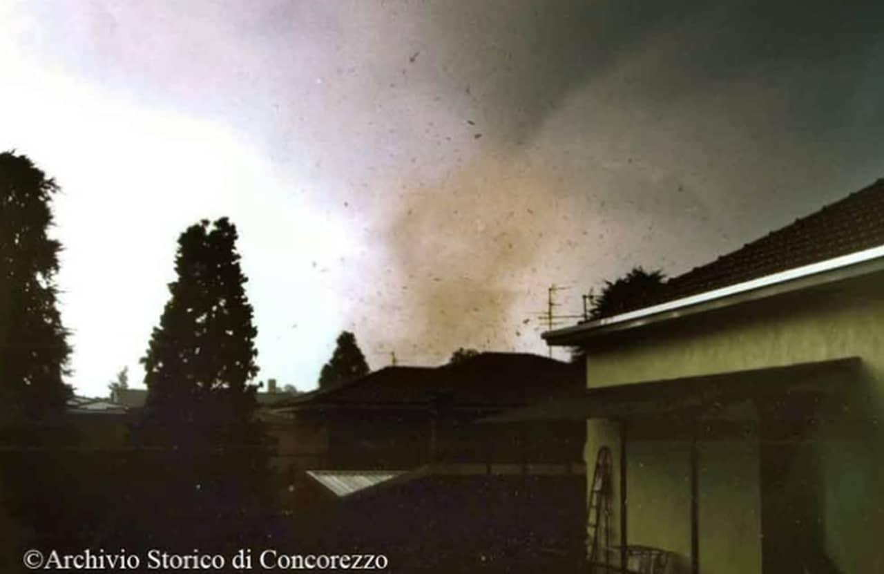 tornado concorezzo - Meteo: TORNADO distruttivo. Ecco cosa accadde ad ARCORE
