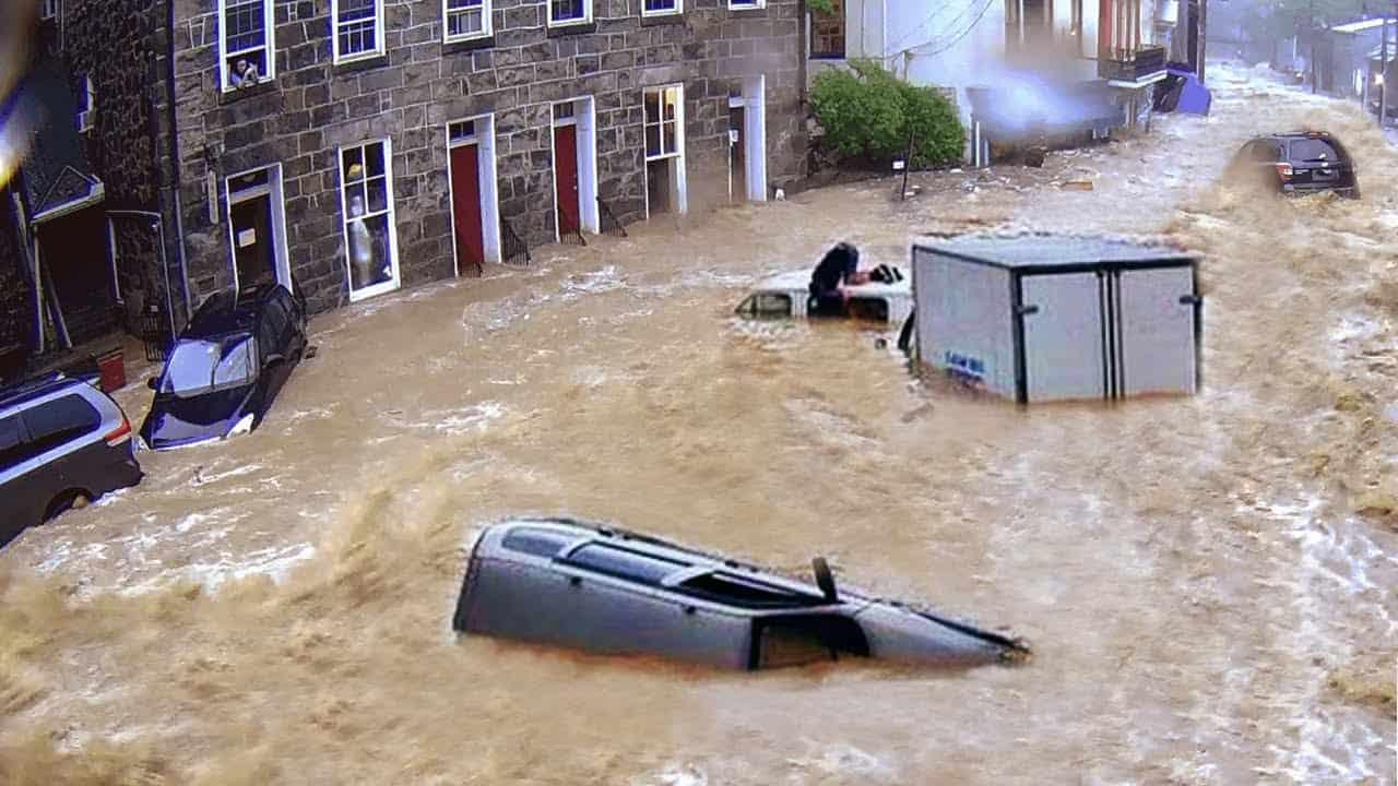 video meteo germania devastata d - Video Meteo: Germania, devastata da alluvioni da record. Vittime