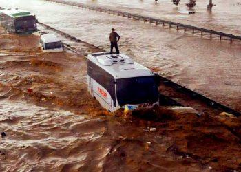 video meteo turchia piogge alluv 350x250 - Video meteo con il drone in una città devastata dall'alluvione in Germania