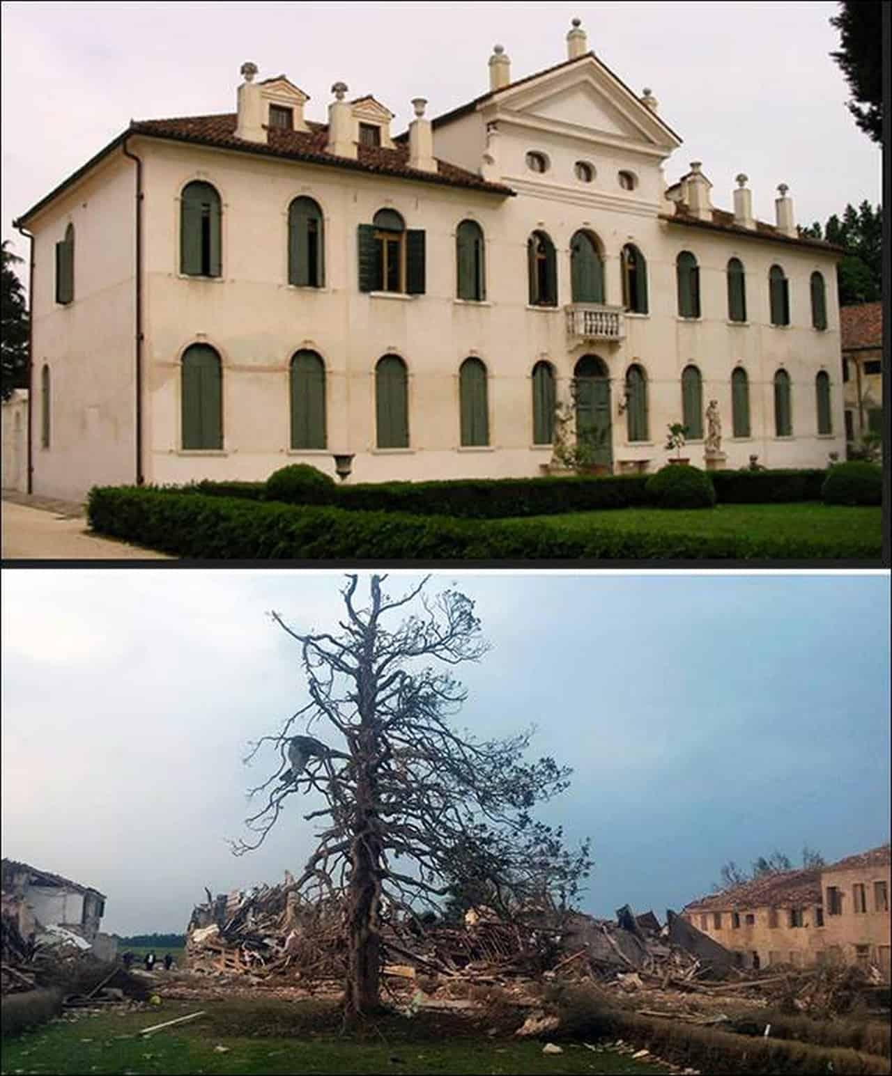 villa fini - TORNADO DEVASTANTE dell'8 luglio 2015. Uno degli eventi meteo più estremi