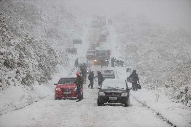 29125542831223 - Neve BRASILE, Paese di ghiaccio e neve come mai visto a memoria d'uomo