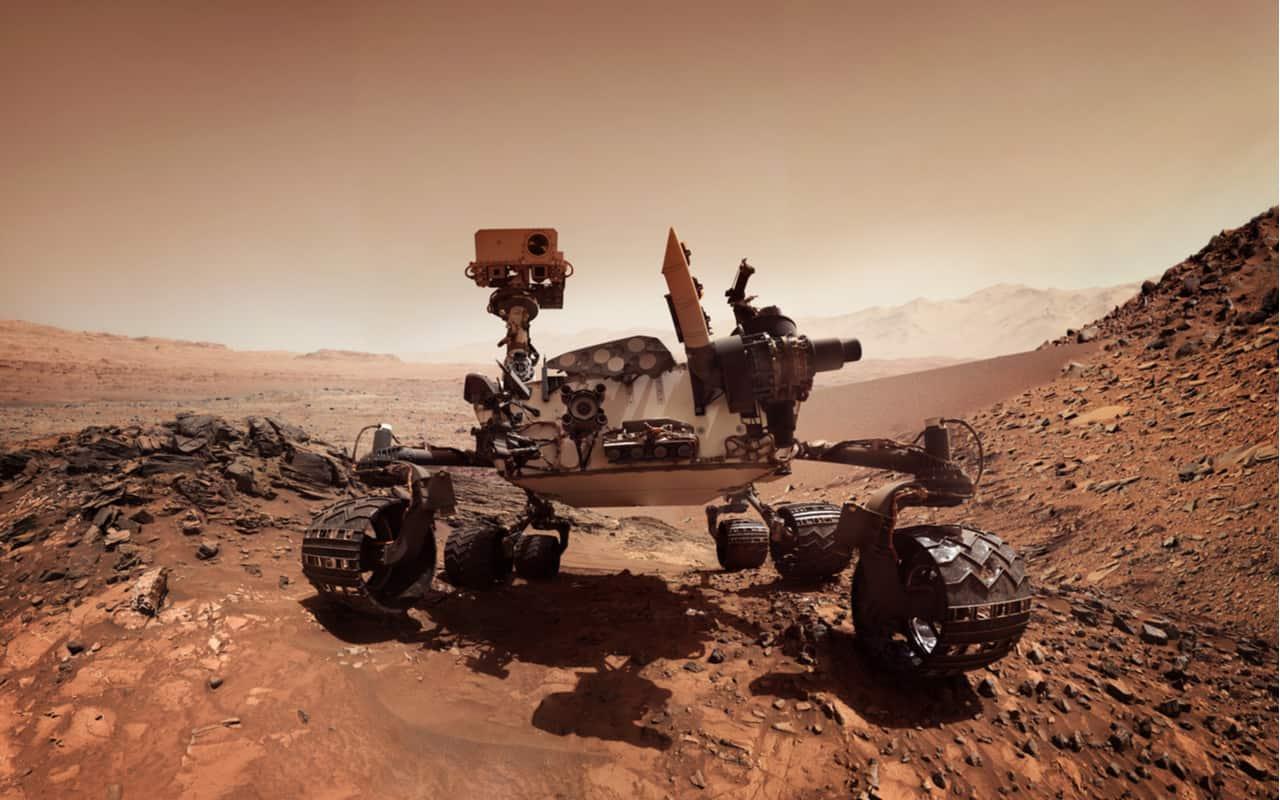 Mars Rover della NASA su Marte