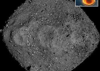 bennu immagine asteroide