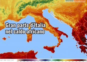 caldo africano in italia