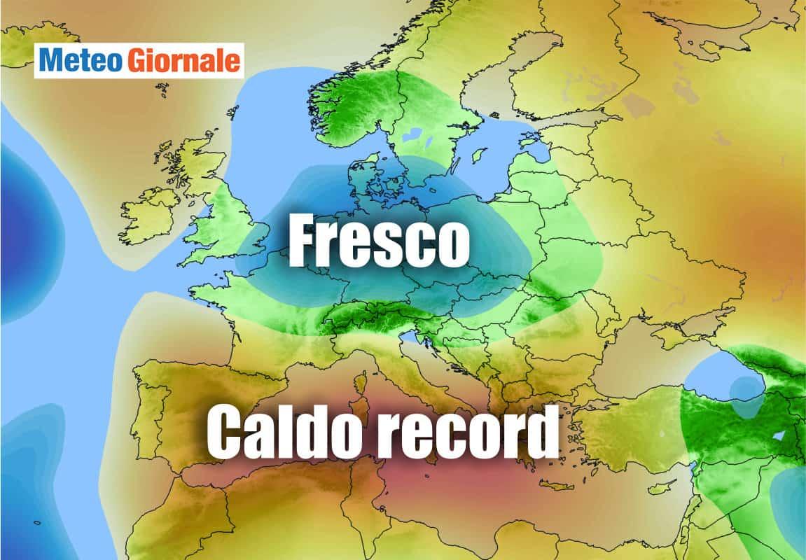 caldo record 1 - FORNACE sahariana, non è finita: meteo prossimi giorni infuocato